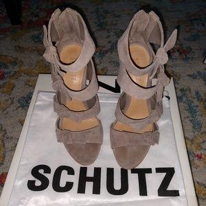 Schutz Stiletto with Bows